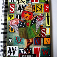 Art Journal mixed media Collage Art Journal PLAY with by IMGirl