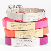MARC BY MARC JACOBS Leather ID Bracelet