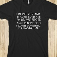 I DON'T RUN - glamfoxx.com