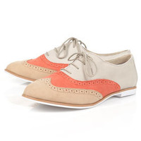 MEL Leather Brogues - View All  - Shoes  - Topshop USA