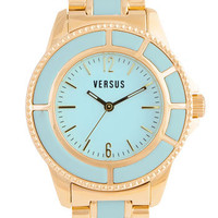 VERSUS by Versace &#x27;Tokyo&#x27; Two Tone Bracelet Watch, 38mm | Nordstrom
