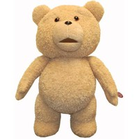 "Amazon.com: Ted 24"" Inch R-rated Talking Plush Teddy Bear - Full Size From Movie: Toys & Games"