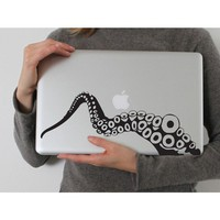 Tentacle Laptop decal by stickypic on Etsy