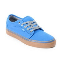Vans Chukka Low Blue Canvas & Gum Shoe