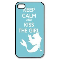 Amazon.com: Custombox The Little Mermaid iphone 4/4s Case Plastic Hard Phone case-iPhone 4-DF00321: Cell Phones & Accessories
