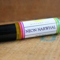 Neon Narwhal Perfume Oil Coconut Hemp Roll On