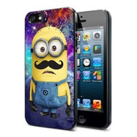 despicable me minions Nebula mustache 451K - iPhone Case iPhone 4 Case iPhone 4S Case iPhone 5 Case iPhone 4 / 4S / 5 Case