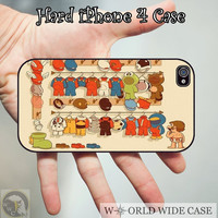 Mario iPhone 4 Case, iPhone case, iPhone 4s Case, iPhone 4 Cover, Hard iPhone 4s