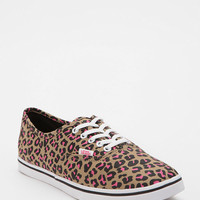 Vans Authentic Leopard Print Canvas Sneaker