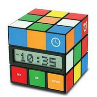 Cube Clock from Made by Humans - looks like Rubik's Cube | X-treme Geek