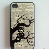 Owl iPhone Case New Hard Fitted Case For iphone by KeepCalmCaseOn
