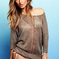 Shimmer Boatneck Sweater - Victoria's Secret