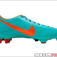 Nike Mercurial Glide III FG Soccer Cleats - Retro with Challenge Red - SoccerPro.com
