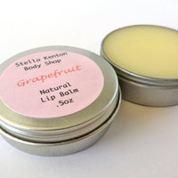 Grapefruit Lip Balm, Shea Butter