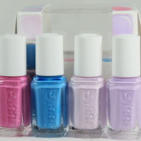 Essie Nail Polish SPRING 2013 Madison Ave-Hue Collection MINIS 4 Piece