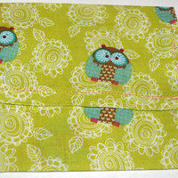 owl print coupon purse by mylittlebows on Etsy