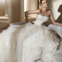 Cheap Pronovias Wedding Dresses - Style Ainsa - Only USD $382.40