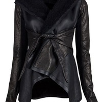 Rick Owens Shearling Jacket - Tabandeh - farfetch.com