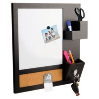 Note-it Style  Dry-Erase Station Black