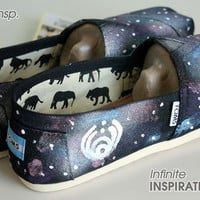 Custom Band Toms (Vans, or Keds)