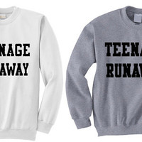 NEW - Teenage Runaway Harry Styles Crewneck