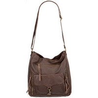 T-SHIRT &amp; JEANS Clasp Pocket Hobo Bag 206408402 | Handbags | Tillys.com