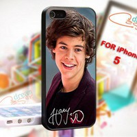 Harry Styles One Direction 1D - Photo On Hard Cover For iPhone 5