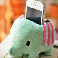 Cute Elephant Circus Plush Holder