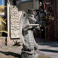 Dragon | Zippy, the Dragon Sculptural Mail Post