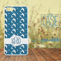 Personalized case for iPhone 5 and iPhone 4 / 4s - Plastic iPhone case - Rubber iPhone case - Monogram iPhone case - CB006