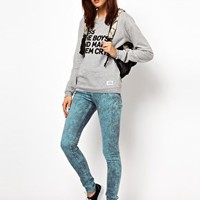 A Question Of Kiss The Boys Sweatshirt at asos.com