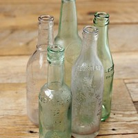 Free People Vintage Medium Glass Bottle