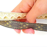 Reversible Hippie head band - bohemian headbands