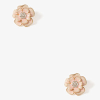 Enameled Wildflower Studs | FOREVER 21 - 1025101797