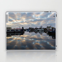 Dawn at West Stockwith Laptop & iPad Skin by John Dunbar | Society6