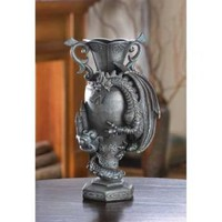 Black Dragon Scaling Vase from Jannie's LiveDeals