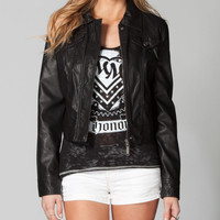 JOU JOU Faux Leather Womens Jacket 207491100 | Jackets | Tillys.com