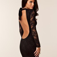 Pamela Lace Dress - Honor Gold - Svart - Festkl?nningar - Kl?der - NELLY.COM Mode online p? n?tet