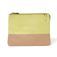 Street Level Colorblock Pouch Purse