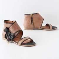 Tipped Bow Sandals - Anthropologie.com