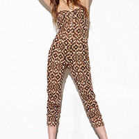 Lucca Couture Peach Tribal Onesuit at PacSun.com