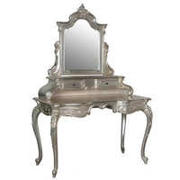 Sylvia Silver Grande Dressing Table|Dressing Tables|Tables|French Bedroom Company