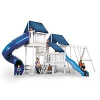 Congo Monkey Backyard PlaySystem 4 with Swing Set