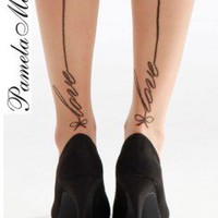 Pamela Mann Love Seam Tights - Tights, Stockings, Shapewear and more -  MyTights.com - The Online Hosiery Store