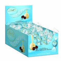 Lindt Lindor Truffles Stracciatella White Chocolate, 60-Count Box