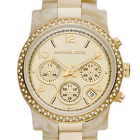 Michael Kors &#x27;Runway&#x27; Chronograph Bracelet Watch, 38mm | Nordstrom