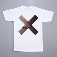 The XX Coexist T-Shirt The XX Shirt Indie Pop Shirt Pop Rock T-Shirt Short Sleeves Tee White Tee Women T-Shirt Unisex T-Shirt Size M