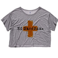NEW - Ed Sheeran Cropped T-Shirt (Preorder)