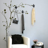 Tree with Hooks Wall Sticker