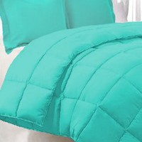 Turquoise Twin Extra Long Comforter Set By Ivy Union